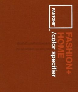 Pantone Fashion Home Color Specifier Book paper Color Chips Hard Cover 275page