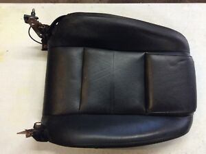2005 2009 Mustang Convertible Front Passenger Seat Back Cover Black Leather