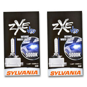 Sylvania Silverstar Zxe High Beam Low Beam Headlight Bulb For Hyundai Nn