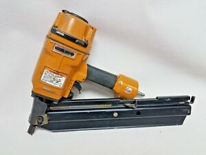 Used Stanley Bostitch N80sb Pneumatic Framing Stick Air Nailer Heavy Duty Angled