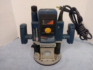 Bosch 1613evs 2 Horsepower Plunge Router Variable Speed 12 000 22 000 Rpm