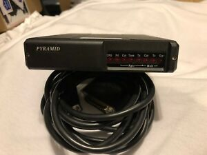 2 Pyramid Svr 200v Vhf 150 174 Mhz Vehicle Repeaters W cable