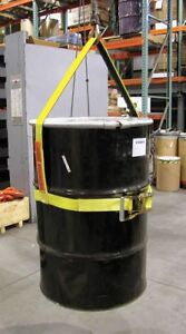 Lift all Drum Sling Vertical 30 In 300 Lb Yellow Latex Dsv601dx30in 1