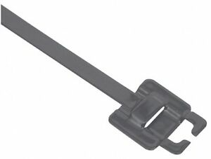 Band it 9 In Nylon 11 Coated Stainless Steel Zip Tie Nylon 11 Coated Stainless