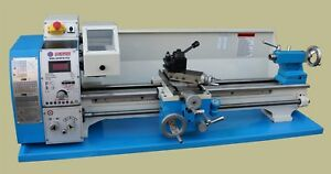 Weiss Wbl250f Bench Top 10 X 30 Imperial Lathe Includes Qctp Threading Dial