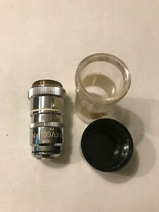 Carl Zeiss Planapo 100x 1 3 Oel 160 Microscope Objective
