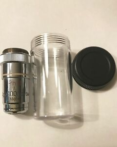 Zeiss Planapo 100x 1 32 Oil Ph3 Phase Contrast 160mm Microscope Objective Lens