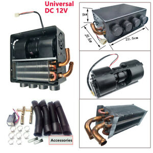 Dc 12v Universal Copper Underdash Compact Heater 12pcs Copper Tube speed Switch