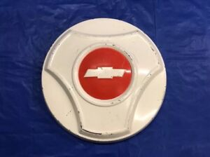 Vintage 1964 66 Chevrolet 3 4 Ton Truck Dog Dish Hubcap Very Good Condition