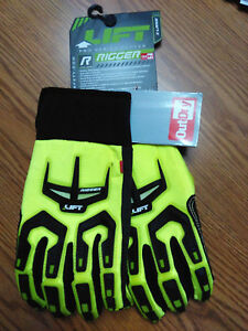 Lift Safety Gro 14hv1l Rigger Outdry Waterproof Work Gloves Size Xl
