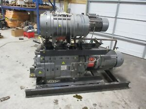 Edwards Dry Star Vacuum Pump With Blower 1113239c used