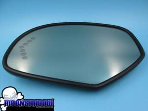 07 14 Gm Chevy Truck Suv Oem Factory Drivers Left Side Turn Signal Mirror Glass