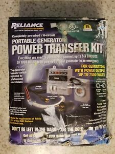Reliance Controls Corporation 31406crk 30 Amp 6 circuit Pro tran Transfer Switch