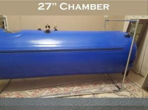 Used 27 Inch Hyperbaric Oxygen Chamber Never Used 2 Month Old 3545