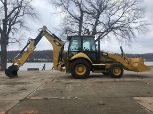 2014 Caterpillar 420f Backhoe Loader 4x4 Extend a hoe Cab Ac Aux Hydraulics Cat