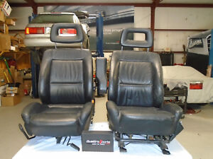 Audi 80 90 Quattro 1988 95 Set Of Front Leather Sport Seats