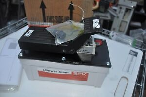 Spx Power Team Pa6m Hydraulic Foot Pump Air Driven 10 000psi New