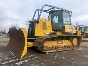 2015 Caterpillar D6k2 Lgp Crawler Dozer 6 way Blade Cab Ac Cat Tractor