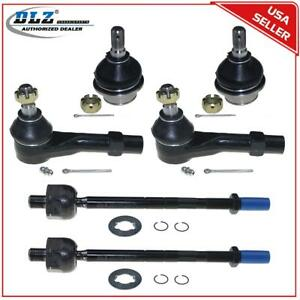 6 Pcs Suspension Ball Joint Tie Rod End For 1998 2001 Ford Explorer