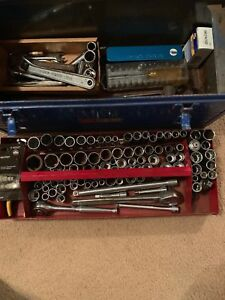96 Craftsman And Others Usa Made Sockets Ratchets Extensions And Tool Box