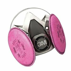 3m 1 2 Mask Respirator Assembly Medium 7182 For Welding