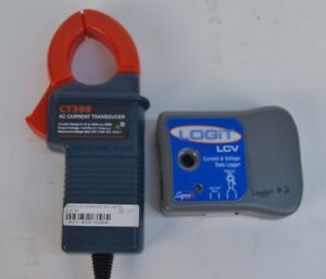 Supco Logit Lcv Current Voltage Data Logger W Ct300 Ac Transducer