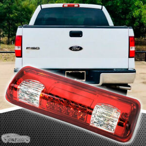 2004 2008 Ford F150 Led Third Brake Light Red Lens F 150 Cargo Lamp 05 06 07