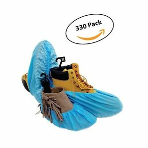 330 Pack Premium Disposable Boot Shoe Covers By Pedashield Booties Are La