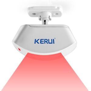Kerui Wireless Infrared Detector Pir Curtain Sensor Motion Detector Alarm System
