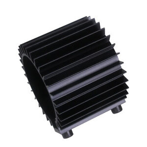 Perfeclan Oil Filter Cooler Heat Sink Cover Cap Aluminum Alloy Kit Black