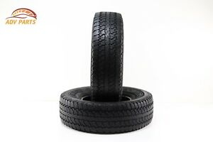 Two Used Tires Firestone Destination A t 265 75 R16 114t M s 6 75 32 Nds Oem