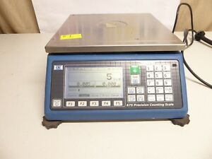 Spx Gse Precision Digital Counting Scale Model 675 60 Lb Very Good Pre Owned 1