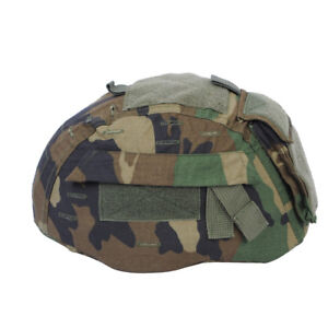 Emerson Tactical Helmet Cover Woodland for MICH 2002 ACH Helmet Hunting Airsoft