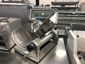Hobart 1612e 12 Manual Meat Slicer A Reliable Workhorse Refurbished