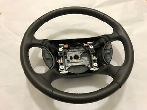 Ford Mustang Gt Leather Steering Wheel 1999 2000 2001 2002 2003 2004 Oem Perfect