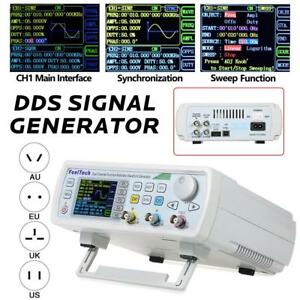 Fy6600 Programmable Dual Channeldds Function Arbitrary Waveform Signal Generator