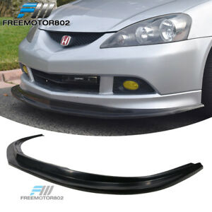 Fits 05 06 Acura Rsx Mda Style Front Lip Spoiler Splitter Black Pu