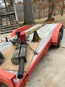 Industrial Mig Welder Boom Arm And Lincoln 10 M Power Feeder