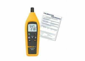 Fluke 971 nist Temperature And Humidity Meter Includes Traceable Certificate