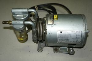 Emerson Sa55jxgtd 4144 Vacuum Pump 1 6 Hp 1725 Rpm