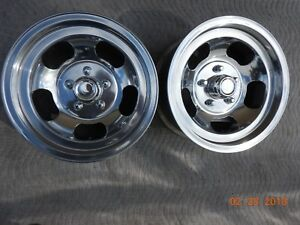 Just Polished 15x7 Slot Mag Wheels Ford Dodge Mags Mopar Chevelle Ss R t Van Gt
