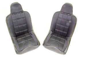 Mastercraft Black Nomad Seat 2 Pc P N 525200
