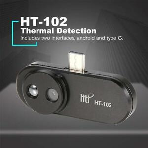 Ht 102 Mobile Phone Thermal Infrared Imager Video Pictures Record For Android