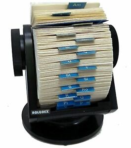 Rolodex Sw 124 Made In The Usa