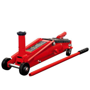 Strong Steel 3 Ton Low Profile Rolling Suv Floor Jack Lift Auto Garage Shop Tool