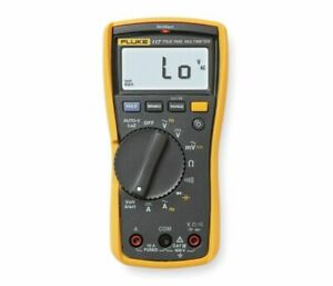 Fluke 117 nist Digital Non contact Voltage Multimeter With Traceable Certificate