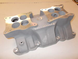 Offy Offenhauser Dual Quad Intake Manifold Nailhead Buick 401 425