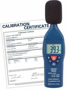 Reed R8050 Sound Level Meter Type 2 30 To 130 Db With Traceable Certificate
