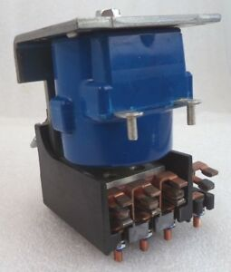 General Electric Hoyt Reversing Latch Relay Assembly P n 17lv66cy53