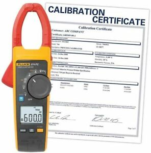 Fluke 374 Fc nist Ac dc Clamp Meter Includes Traceable Certificate